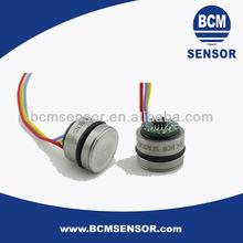 Flush diaphragm construction compensated Pressure Sensors for biomedical instrument