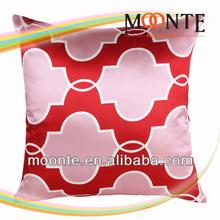 Cheap Small Square Quatrefoil Pattern Cushion for Sofa
