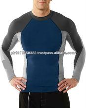 Compression long sleeve baselayer skin tops