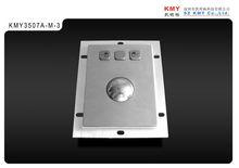 Mini industrial kiosk trackball, mechanical/ optical, industrial mouse