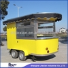 2014 Stainless Steel Mobile Commercial Coffee Kiosk in malls