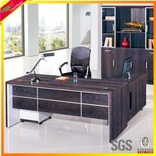 Freedom and fashion purple oak executive l shaped desk