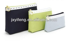 2014 Nylon Travel Storage Case Three-piece Suit Coin Cosmetic Bag Supplier