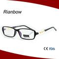 Caliente venta 2015 de moda del diseño de plástico gafas de lectura unbreakable monturas de gafas