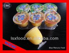 120g mango flavor pudding with nata de coco
