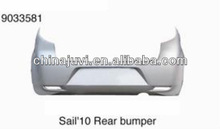 New parts High Quality Car bumper ABS/Rear bumper for Chevrolet New Sail 2010 hatchback