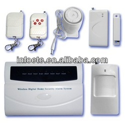 Wireless auto dial alarm for home safety
