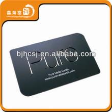 2013 hot sale fashion pvc name card