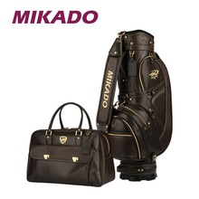MIKADO NOBLESSE CADDIEBAG BROWN SET