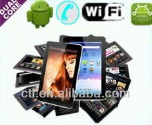 7 inch Capacitive Tablet PC Allwinner A20 Cortex A7 Android 4.2 OS 1.2GHz CPU 1GB DDR 8GB HDD 2300mAh