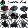 MOTOR BIKE MOTORCYCLE LEATHER SADDLE BAG