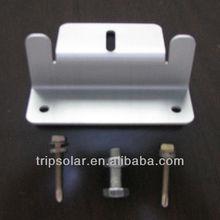 4 pcs Z style aluminum solar panel brackets