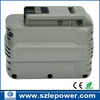 ex-factory price NI-HM dewalt 2000mAh high voltage 24v power tool Battery