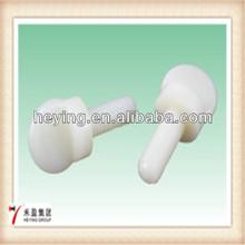 Heying Good Price Plastic Knurled Thumb Screw,Nylon knurled thumb screw fan-shaped