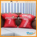 la decoración del hogar estrella de fútbol almohada para la copa del mundo 2014