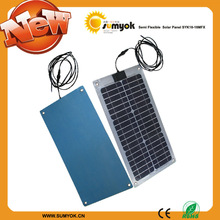18w 18v semi-flexible solar panel high efficience mono cell SYK18-18MFX solar panels for sale