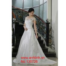 Vietnam high quality wedding dress, gown
