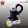 gas alarm system with electrovalve gas valves brass valve