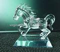 Personalizado Regalos de la Novedad de Negocio de Figurita de Caballo de Cristal