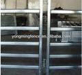 pesado de acero galvanizado paneles de ganado 6 ferrocarril y heavy duty puertas con marcos