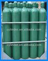 litro 50 iso9809 argón del cilindro de gas con la válvula