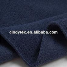150/96f drapery soft anti pilling polyester brush polar fleece fabric