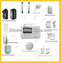 Home burglar alarm SIM alarm auto dial