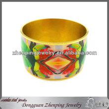 Custom resin bands printed fashion bangle