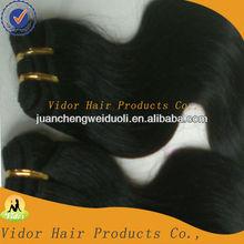 Hot !!!guarantee 100% top quality indian hair virgin human hair