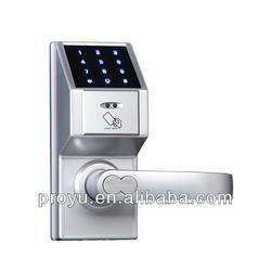 Touch screen digital push button code lock password lock 81307C