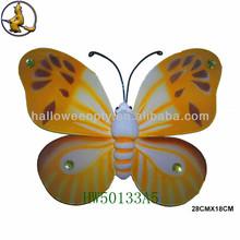 Stylish Brown Rhinestone Butterfly Wings