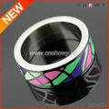 البنصر جديدة مخصصة لوحة قياس، صفيحة معدنية خاتم، عادي خواتم الاصبع المعادن