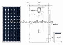 Hot sale solar panel 240w solar panel price india