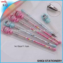 Korea cartoon cat fine point gel pen