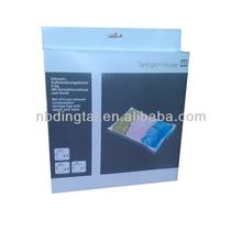 PA+PE vacuum storage bags with manual air pump,save 75% storage space