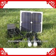 10W-240w Solar home power system in Nepal