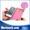 Hot selling wallet case for iphone 5 flip cover case hello kitty smart folio case
