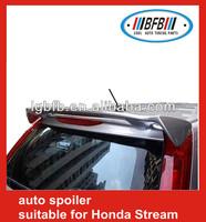 Auto Rear ABS roof Spoiler For Honda Stream