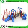 Playground equipment for kids outside, outdoor playground