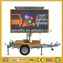 LED Full Matrix With 12V Solar Power Supply 2600*1600mm