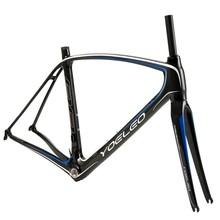 Super light road frame carbon,carbon road bike frameset; ud matt carbon frame road bike