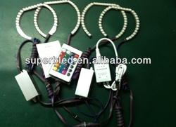 Multicolor square halo rings for BMW F30 E90 E92 E93 M3 headlight for auto accessories