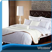 Hotel 100% cotton Stain Pillowcase wholesale 100% silk pillowcase