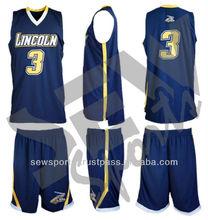 Sew Men Custom Basketball Uniform