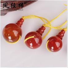 Natural Red coral Tibetan type Three Buddha head DIY rosary beads accessories