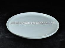 """2012 china wholesale 8.5"""" bulk white round ceramic plate"""