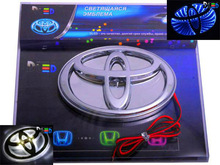 LED Auto Emblems Car Logos Auto Logos Car Emblems DLED production MADE IN RUSSIA