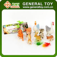 Animal figures toy,Wild animal figurine toy,Cheap plastic farm animal toy