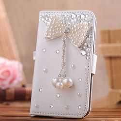 Hot selling wallet case with diamond angel with bling flower for iphone 5S/5C with blingbling crystal rhinestone