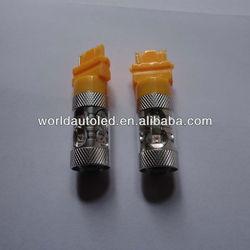 Newest!!!ultra bright,3157/3156/T25,50W,yellow,12V DC/24V DC,led automobile bulb